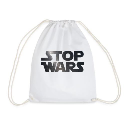 STOP WARS - Drawstring Bag