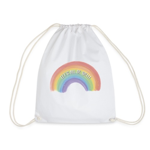 Let´s All be Well! - Mochila saco