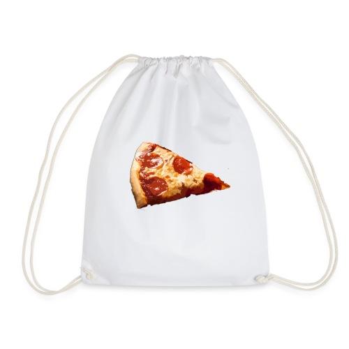 pizza con chorizo jamon y queso - Mochila saco