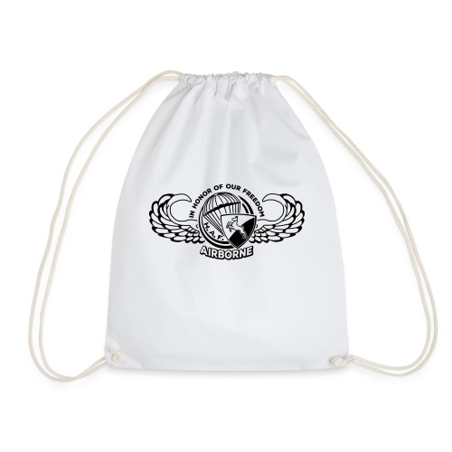 HAF tshirt back2015 - Drawstring Bag