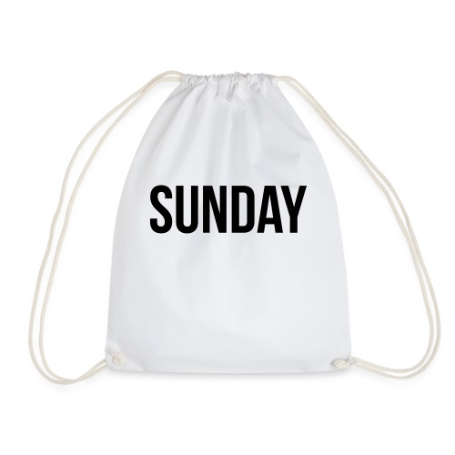 Sunday - Drawstring Bag