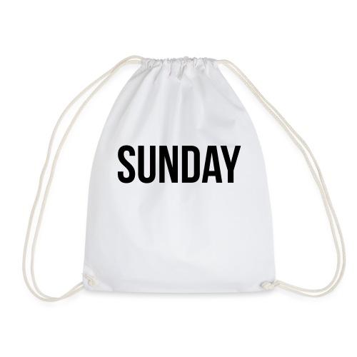 Sunday - Drawstring Bag