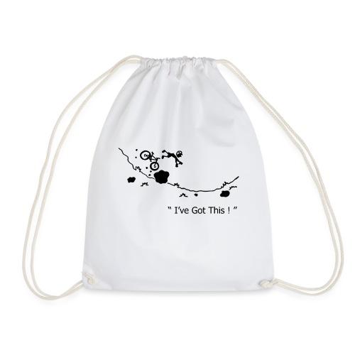 I've Got This! Bike Crash - Drawstring Bag