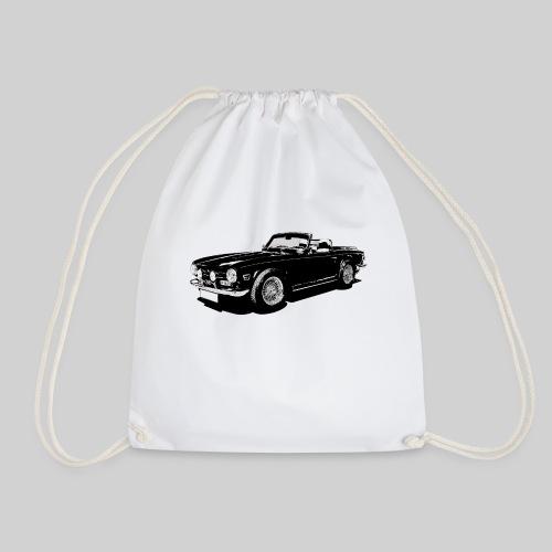 Classic British sports car - Drawstring Bag