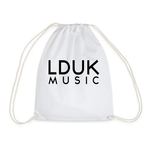 LDUK Music writing svg - Drawstring Bag