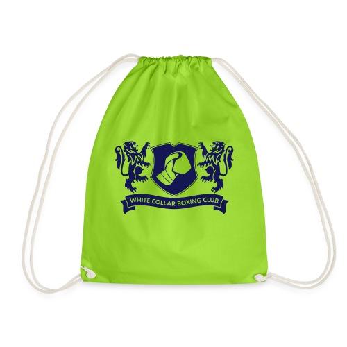 White Collar Boxing Hoodie Classic-Blue - Turnbeutel