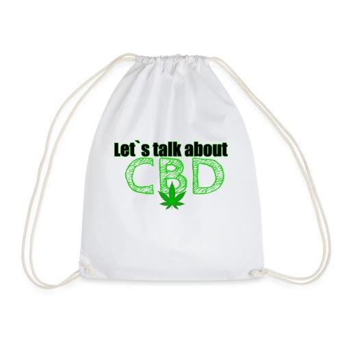 Let´s talk about CBD - Cannabis CBD Öl Merch - Turnbeutel