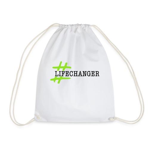 LOGO LIFE CHANGERS NERO - Sacca sportiva