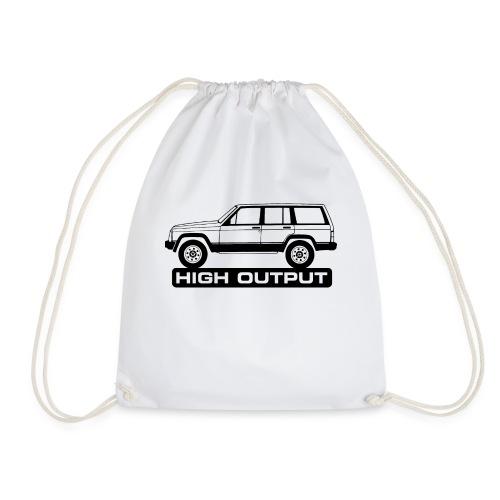 Jeep XJ High Output - Autonaut.com - Drawstring Bag