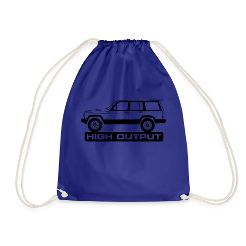 Jeep XJ High Output - Autonaut.com - Drawstring Bag