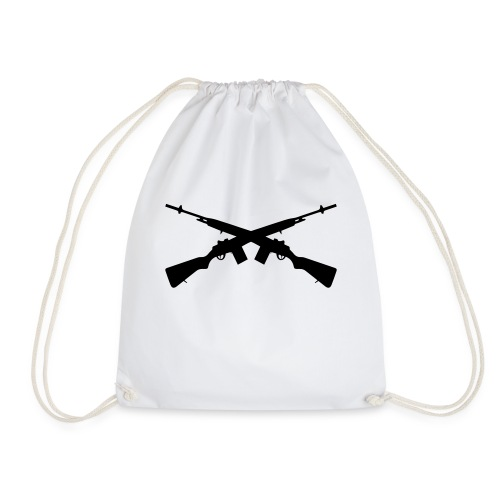 Brother in Arms - Drawstring Bag