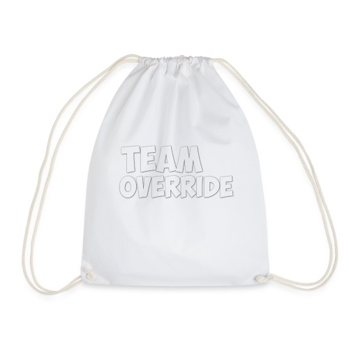Team Override T-Shirt grey Youtube - Drawstring Bag