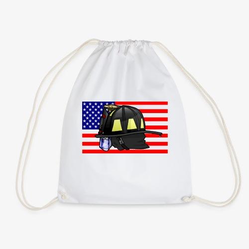Casque pompier américain - Sac de sport léger