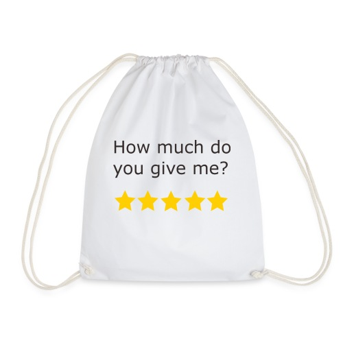 How much do you give me? - Sac de sport léger