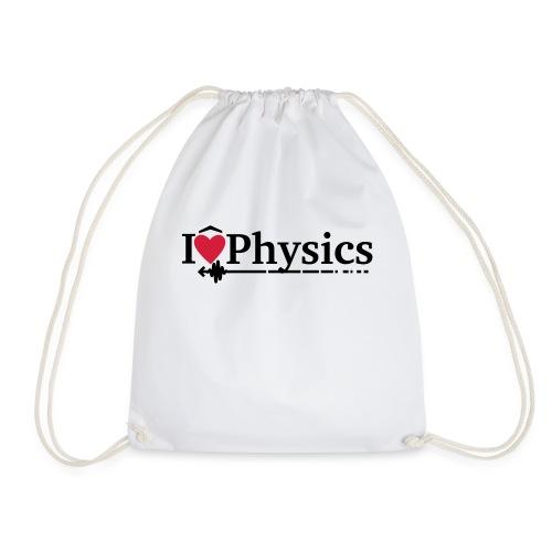 I heart physics - Drawstring Bag