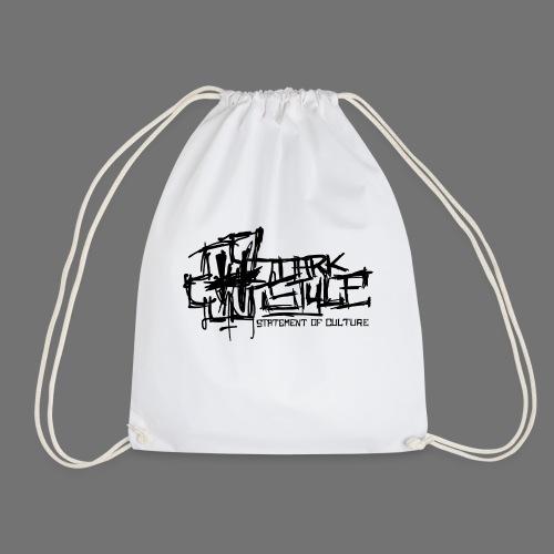Dark Style - Statement Of Culture (black) - Drawstring Bag