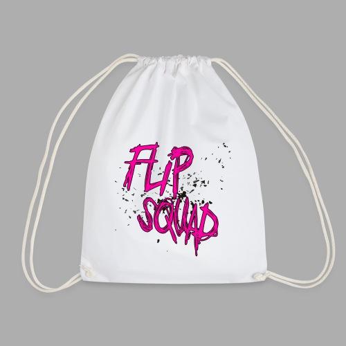 FlipSquad rosa partiklar - Gymnastikpåse