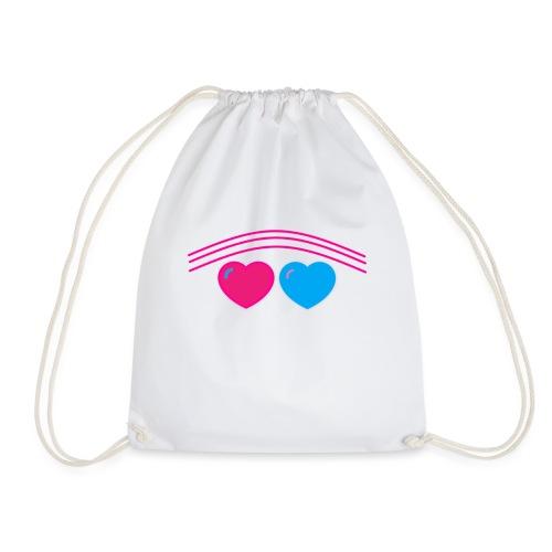 Das Design mit Herz - Turnbeutel