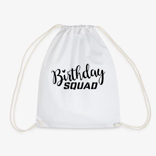 Birthday squad - Turnbeutel