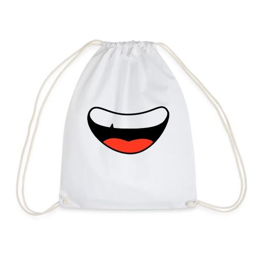 Colorful Smily Face - Drawstring Bag