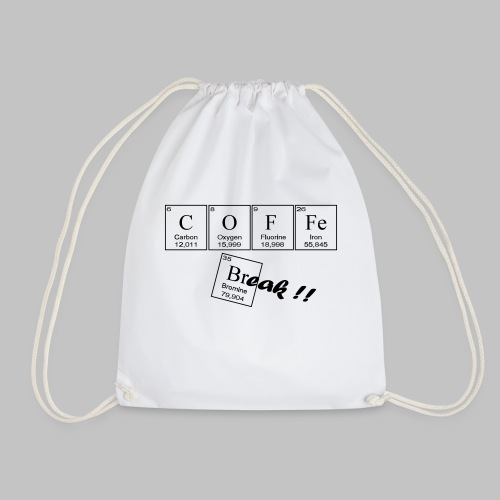 Coffee Break - Drawstring Bag