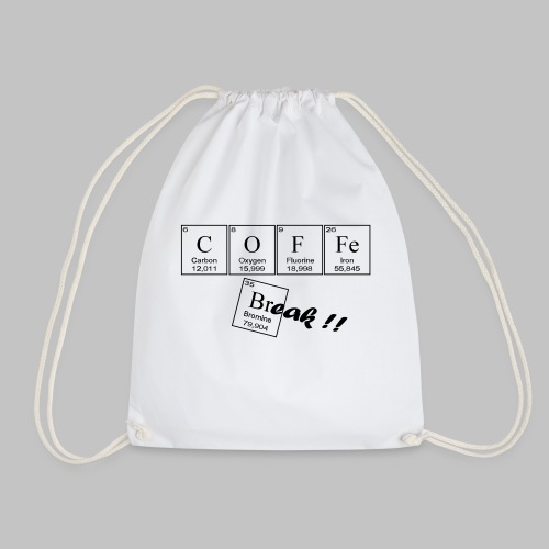 Coffee Break - Drawstring Bag