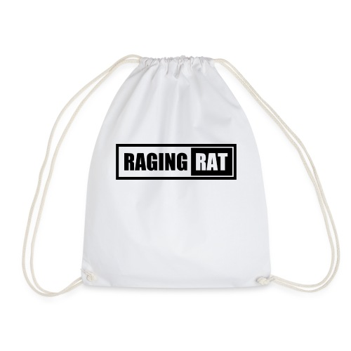Raging Rat - Drawstring Bag