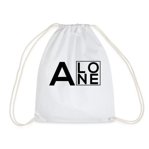Alone Box Logo - Drawstring Bag