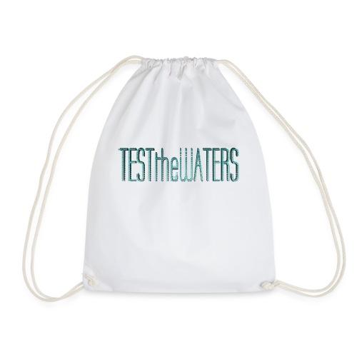 TESTtheWATERS BETA BLUE - Drawstring Bag