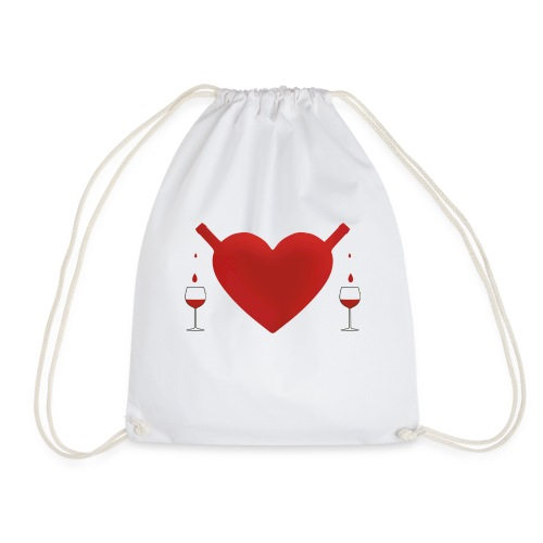 share good love - Drawstring Bag