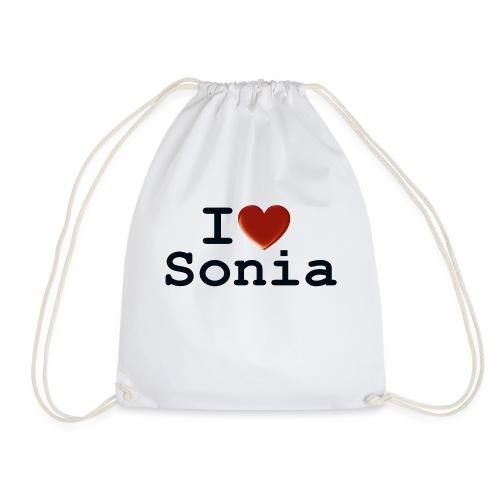 i love sonia - Worek gimnastyczny