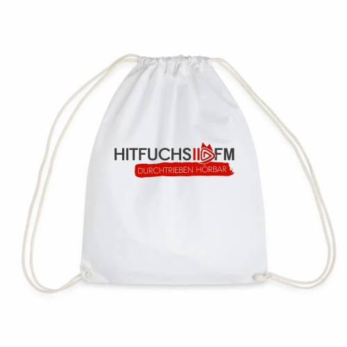 HitFuchs logo + slogan - Drawstring Bag