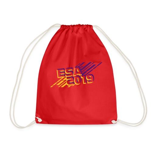 ESA 2019 - Summer Gold and Purple - Drawstring Bag