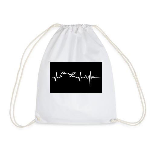 biker heartbeat - Mochila saco