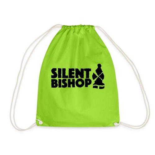 Silent Bishop Logo Groot - Gymtas