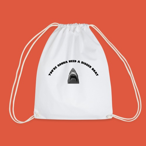 Jaws - Drawstring Bag