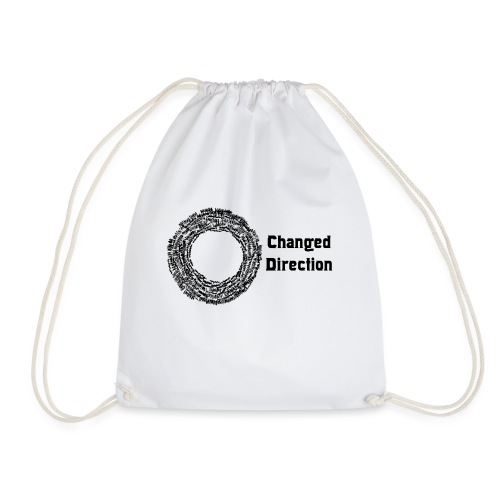 Changed Direction - Drawstring Bag