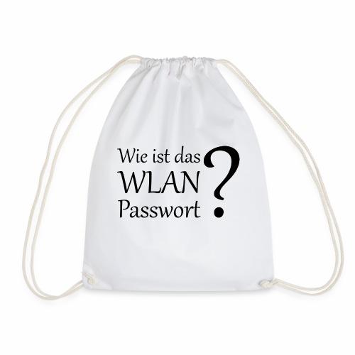 Wlan-Paßwort Variante 2 - Drawstring Bag