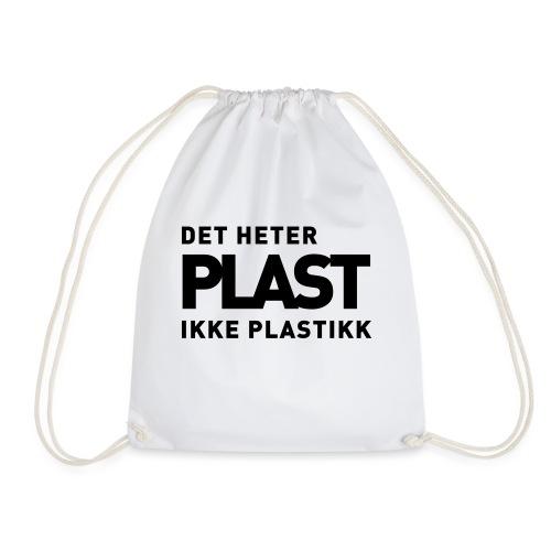 Det heter plast - Det norske plagg - Gymbag