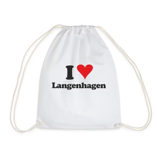 I Love Langenhagen - Turnbeutel