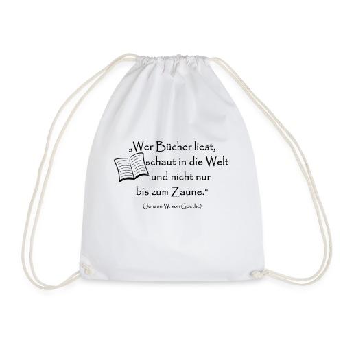 Bücher lesen - Turnbeutel