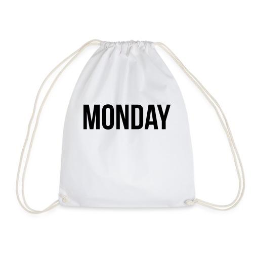 Monday - Drawstring Bag
