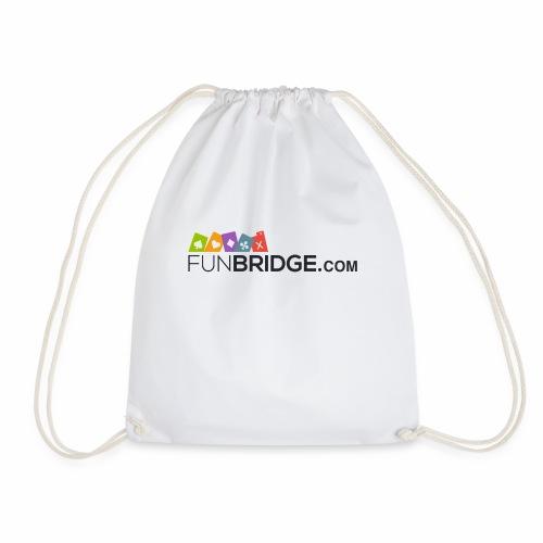 Funbridge logo - Drawstring Bag