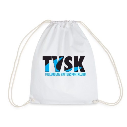 TVSKs färglogo - Gymnastikpåse