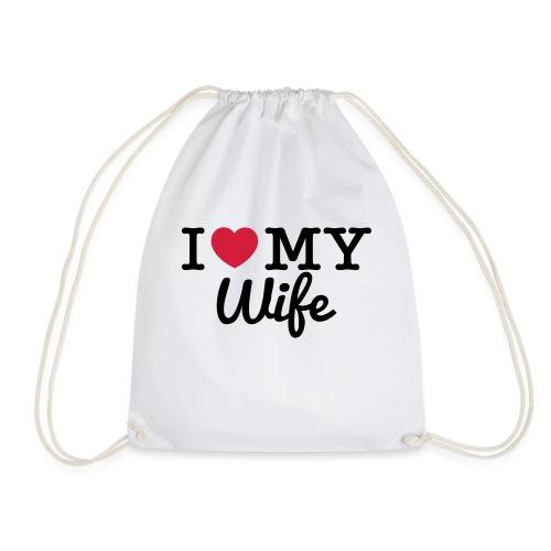 I Love My Wife - Sac de sport léger