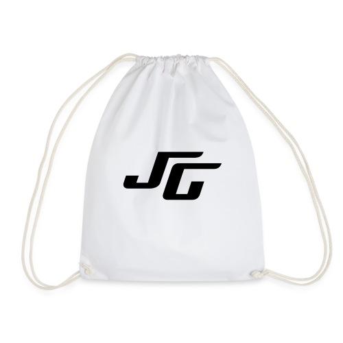 JG Logo schwarz - Turnbeutel