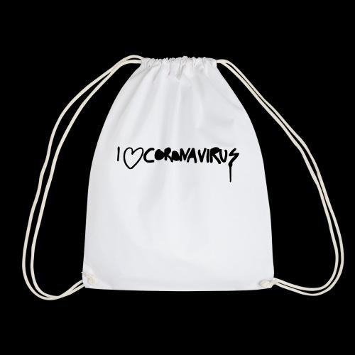 I love CoronaVirus - Turnbeutel