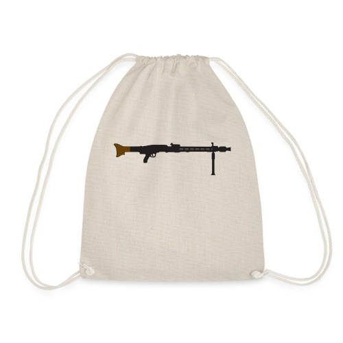 Mg42 Mg3 german gun - Drawstring Bag