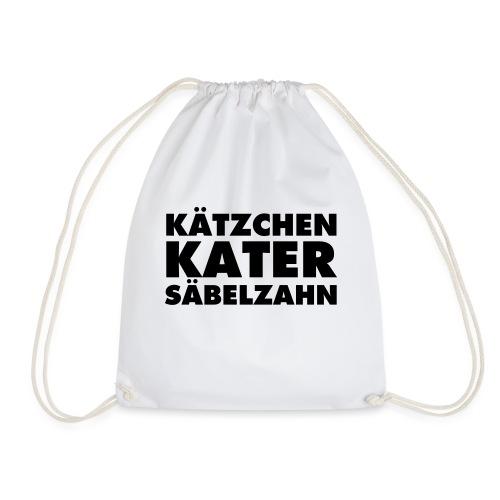 KÄTZCHEN KATER SÄBELZAHN - Turnbeutel
