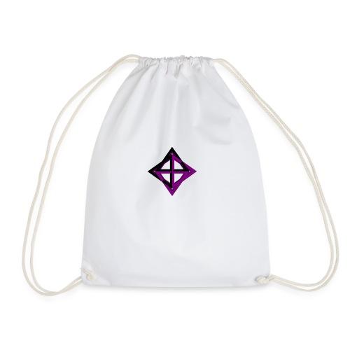 star octahedron geommatrix - Drawstring Bag